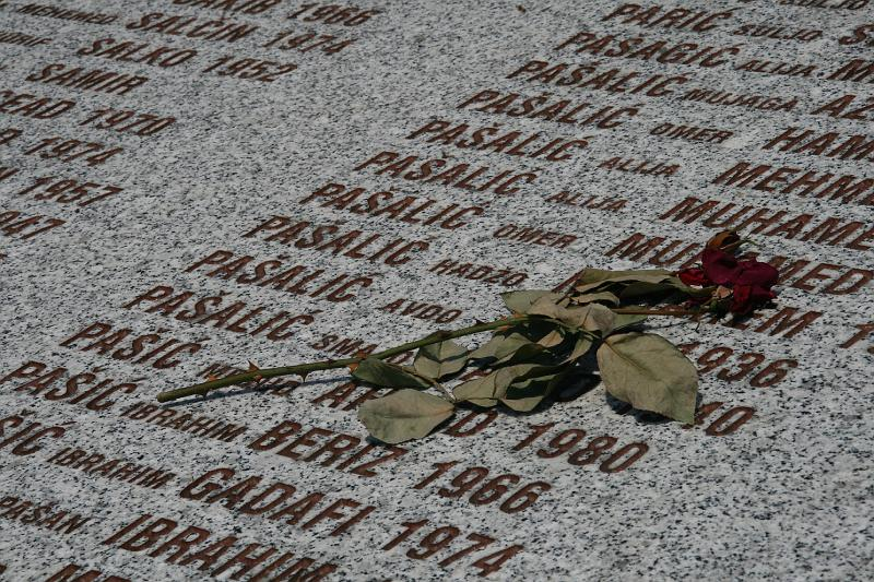 Victims of genocide, Srebrenica, Bosnia